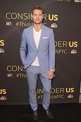 """LOS ANGELES, CA - AUGUST 14:  Justin Hartley at the FYC Event for 20th Century Fox and NBC's """"This Is Us"""" at Paramount Studios on August 14, 2017 in Los Angeles, California. (Photo by Scott Kirkland/PictureGroup)"""