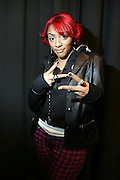Cherri Dennis at the South Pole Fashion show during ' The Stay in School Concert ' facilated by Entertainers for Education held at The Manhattan Center on October 28, 2008 in New York City