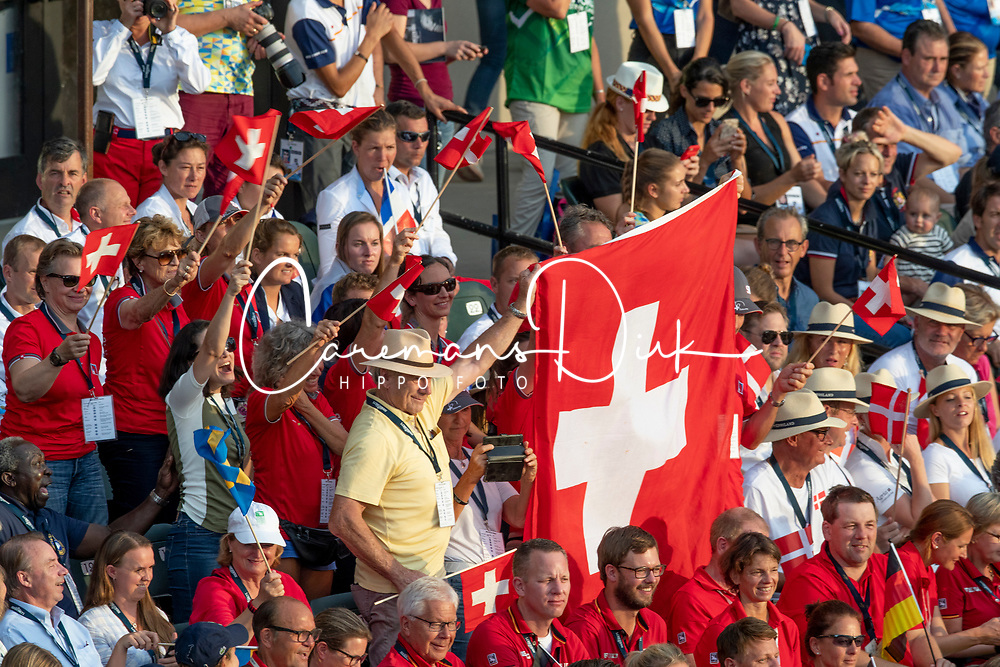 Opening ceremony, Team Switzerland<br /> World Equestrian Games - Tryon 2018<br /> © Hippo Foto - Sharon Vandeput<br /> 11/09/2018