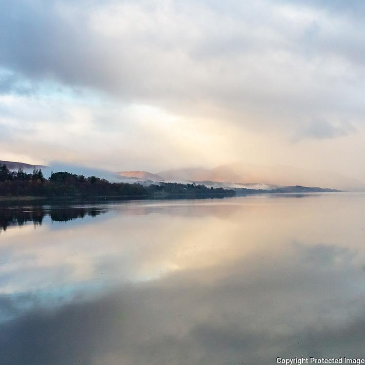 Loch Eil Mist II, Highland, Scotland.