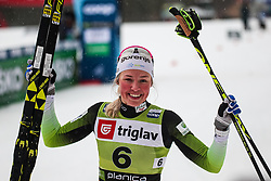 Anamarija Lampic (SLO) during the Ladies sprint free race at FIS Cross Country World Cup Planica 2019, on December 21, 2019 at Planica, Slovenia. Photo By Grega Valancic / Sportida
