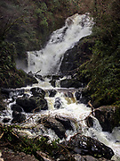 Spectacular Torc Waterfall Killarney.<br /> Photo Don MacMonagle