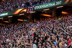 24-05-2017 SWE: Final Europa League AFC Ajax - Manchester United, Stockholm<br /> Finale Europa League tussen Ajax en Manchester United in het Friends Arena te Stockholm / Ajax support, stadion, publiek