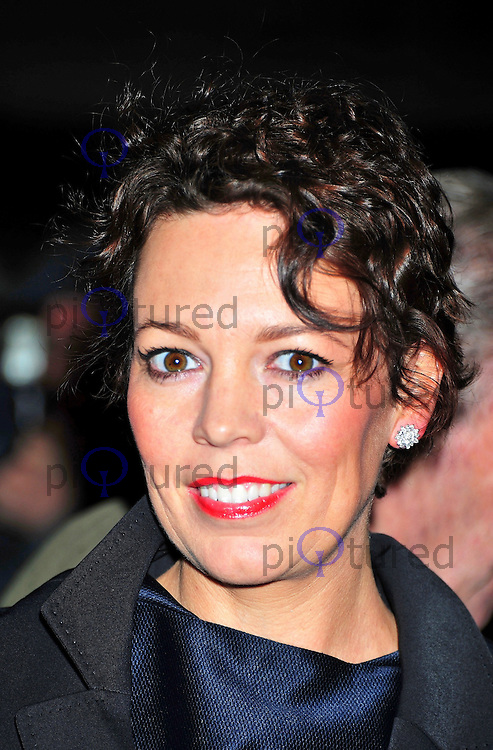 LONDON - FEBRUARY 06: Olivia Coleman attends the London Evening Standard British Film Awards at the London Film Museum, County Hall, South Bank, London, UK on February 06, 2012. (Photo by Alan Roxborough)