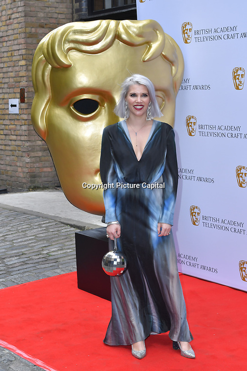 Pips Taylor Arrivers at the British Academy Television Craft Awards on 28 April 2019, London, UK.
