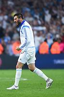 Joie Marseille - Andre Pierre Gignac - 10.05.2015 - Marseille / Monaco - 36eme journee de Ligue 1<br /> Photo : Alexandre Dimou / Icon Sport