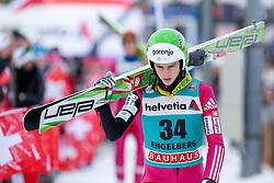 22.12.2013, Gross Titlis Schanze, Engelberg, SUI, FIS Ski Jumping, Engelberg, Herren, im Bild Jaka Hvala (SLO) // during mens FIS Ski Jumping world cup at the Gross Titlis Schanze in Engelberg, Switzerland on 2013/12/22. EXPA Pictures © 2013, PhotoCredit: EXPA/ Eibner-Pressefoto/ Socher<br /> <br /> *****ATTENTION - OUT of GER*****
