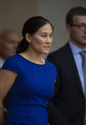 Priscilla Chan (Facebook chief Mark Zuckerberg's wife) leaves the Elysee palace in Paris, France on May 10, 2019.. Photo by Eliot Blondet/ABACAPRESS.COM
