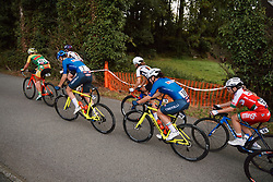 Elena Pirrone (ITA) at the 2020 UEC Road European Championships - Under 23 Women Road Race, a 81.9 km road race in Plouay, France on August 26, 2020. Photo by Sean Robinson/velofocus.com