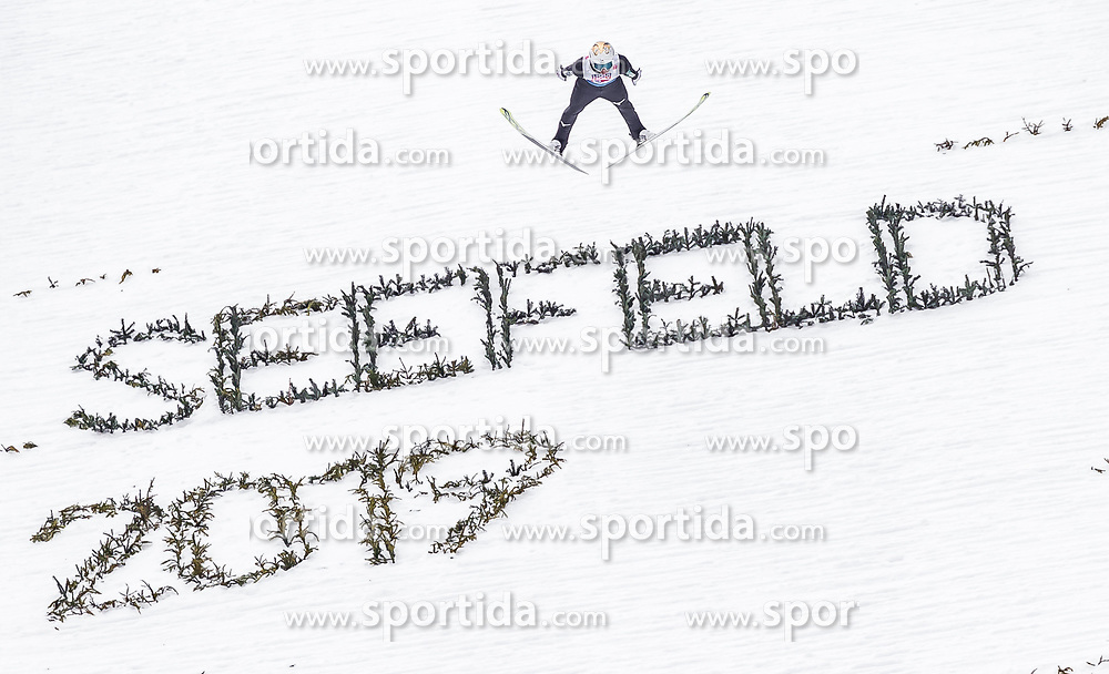 28.02.2019, Seefeld, AUT, FIS Weltmeisterschaften Ski Nordisch, Seefeld 2019, Nordische Kombination, Team Sprung, im Bild Go Yamamoto (JPN) // Go Yamamoto of Japan during the Team Jumping competition for Nordic Combined of FIS Nordic Ski World Championships 2019. Seefeld, Austria on 2019/02/28. EXPA Pictures © 2019, PhotoCredit: EXPA/ JFK