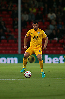 Football - 2016 / 2017 League Cup - Round 3: AFC Bournemouth vs. Preston North End<br /> <br /> Bailey Wright of Preston in action at Dean Court (The Vitality Stadium) Bournemouth<br /> <br /> Colorsport/Shaun Boggust