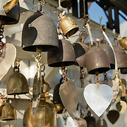 Detail of bells at Wat Saket on Golden Mountain, Bangkok