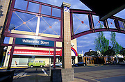 Image of the Willamette Street transit station in downtown Eugene, Oregon, Pacific Northwest by Andrea Wells