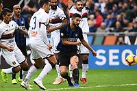 gol Roberto Gagliardini. Goal <br /> Milano 03-11-2018 Stadio San Siro Football Calcio Serie A 2018/2019 FC Internazionale - Genoa Foto Matteo Gribaudi / Image Sport / Insidefoto