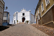 Old church of the village of Aljezur, Algarve. The southwest coast of Portugal, from cape St vincente, at the Algarve, until up to Zambujeira do Mar, at the Alentejo, is said to be among the most unspoiled coastlines of Europe.
