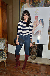 DAISY LOWE at a dinner for JF London x Kyle DeVolle held at Beach Blanket Babylon, Ledbury Road, London on 29th September 2016.
