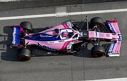 February 19, 2019 - Barcelona, Spain - Motorsports: FIA Formula One World Championship 2019, Test in Barcelona, , #18 Lance Stroll ( CAN, Team Racing Point) (Credit Image: © Hoch Zwei via ZUMA Wire)