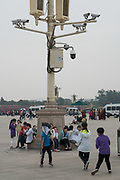 Tiananmen square<br /><br />By 2030 China will have the equivalent of one surveillance camera for every operson who lives in China