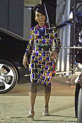EXCLUSIVE: Kerry Washington gets a visit from her kids and mother while working on the set of The Prom **SPECIAL INSTRUCTIONS*** Please pixelate children's faces before publication.***. 06 Mar 2020 Pictured: Kerry Washington. Photo credit: P&P / MEGA TheMegaAgency.com +1 888 505 6342