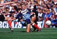 Fotball<br /> Foto: Colorsport/Digitalsport<br /> NORWAY ONLY<br /> <br /> Tony Mowbray (Middlesbrough) Sunderland v Middlesbrough. 17/8/89