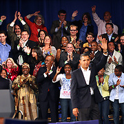 Presidente Barak Obama en Boston