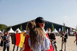 RIESENBECK - FEI Jumping European Championship Riesenbeck 2021<br /> <br /> THIEME Andre (GER)<br /> Impressionen am Abreiteplatz<br /> Second Qualifying Competition - Round 2 <br /> Team Final<br /> <br /> Hörstel-Riesenbeck, Reitanlage Riesenbeck International<br /> 03. September 2021<br /> © www.sportfotos-lafrentz.de/Stefan Lafrentz