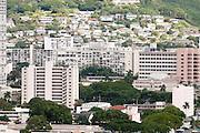 An image showing President Barack Obama's childhood apartment building in Makiki, Honolulu, Hawaii.