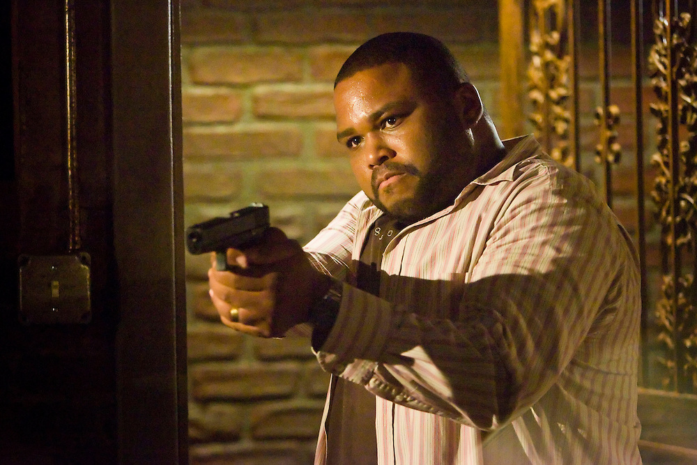 Anthony Anderson as Marlin Boulet in Fox Television's 'K-Ville' - a police drama set in New Orleans after Hurricane Katrina.