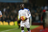 Ngolo Kante of  Leicester city looks on.  Barclays Premier league match, Aston Villa v Leicester city at Villa Park in Birmingham, The Midlands on Saturday 16th January 2016.<br /> pic by Andrew Orchard, Andrew Orchard sports photography.