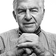 Former Massachusetts Governor Michael Dukakis is a visiting professor at the University of California, Los Angeles. Photographed for Chronicle of Higher Education, January, 2017.