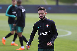 March 20, 2018 - Lisbon, Lisbon, Portugal - Portugal midfielder Bruno Fernandes during training session at Cidade do Futebol training camp in Oeiras, outskirts of Lisbon, on March 20, 2018 ahead of the friendly football match in Zurich against Egypt on March 23. (Credit Image: © Dpi/NurPhoto via ZUMA Press)