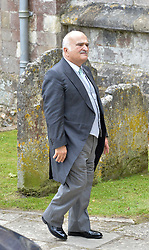 Prince Hassan bin Talal of Jordan at the wedding of the Hon.Alexandra Knatchbull to Thomas Hooper held at Romsey Abbey, Romsey, Hampshire on 25th June 2016