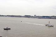 Atmosphere onboard the Iwo Jima during 2009 Fleet Week in New York City held on May 22, 2009..
