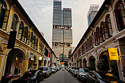 Singapore, building in  Civic District within the Downtown Core