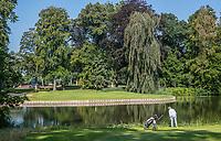 HAARZUILENS  - green hole 16  , Golfclub De Haar , van 9 naar 18 holes. .  COPYRIGHT KOEN SUYK