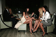 ANNABEL NEILSON, MEREDITH OSTRON AND YASMIN MILLS, Party hosted by Larry Gagosian at Nobu, Berkeley St. London. 9 October 2007. -DO NOT ARCHIVE-© Copyright Photograph by Dafydd Jones. 248 Clapham Rd. London SW9 0PZ. Tel 0207 820 0771. www.dafjones.com.