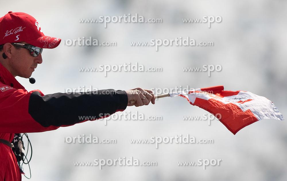 20.03.2010, Planica, Kranjska Gora, SLO, FIS SKI Flying World Championships 2010, Flying Hill Individual 3rd Round, im Bild Alexander Pointner, cheftrainer OeSV, EXPA Pictures © 2010, PhotoCredit: EXPA/ J. Groder / SPORTIDA PHOTO AGENCY