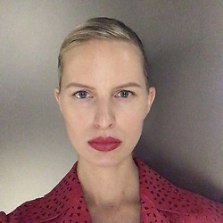 """Karolina Kurkova releases a photo on Instagram with the following caption: """"Bold lips, Bare skin, No mascara #kkstyle #kkbeauty #newlook #nofilter #red \ud83d\udc4a"""". Photo Credit: Instagram *** No USA Distribution *** For Editorial Use Only *** Not to be Published in Books or Photo Books ***  Please note: Fees charged by the agency are for the agency's services only, and do not, nor are they intended to, convey to the user any ownership of Copyright or License in the material. The agency does not claim any ownership including but not limited to Copyright or License in the attached material. By publishing this material you expressly agree to indemnify and to hold the agency and its directors, shareholders and employees harmless from any loss, claims, damages, demands, expenses (including legal fees), or any causes of action or allegation against the agency arising out of or connected in any way with publication of the material."""