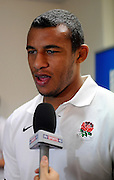 Delon Armitage of England, during an England Team announcement at Southern Cross Hotel in Dunedin, New Zealand. IRB Rugby World Cup 2011. Thursday 8 September 2011. New Zealand. Photo: Richard Hood/photosport.co.nz