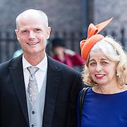 NLD/Den Haag/20170919 - Prinsjesdag 2017, Stef Blok en partner