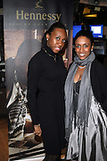 l to r: Michelle Pascal and Keisha Clark at The 2009 NV Awards: A Salute to Urban Professionals sponsored by Hennessey held at The New York Stock Exchange on February 27, 2009 in New York City. ....