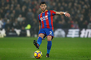 Joel Ward of Crystal Palace in action. Premier League match, Crystal Palace v Everton at Selhurst Park in London on Saturday 18th November 2017.<br /> pic by Steffan Bowen, Andrew Orchard sports photography.