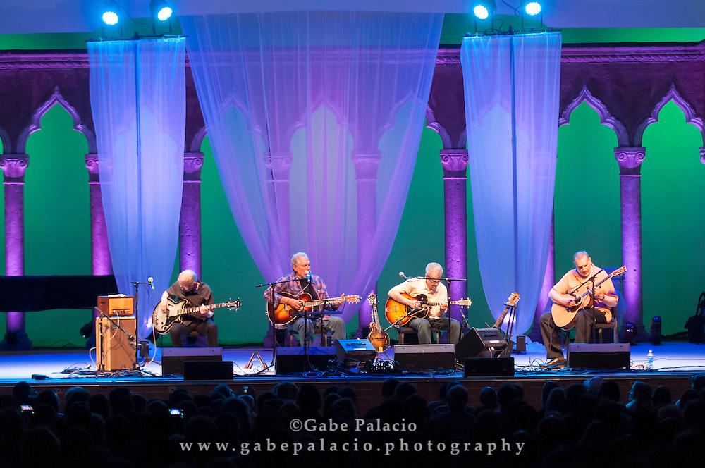 Hot Tuna Acoustic with David Bromberg performing at the American Roots Music Festival at Caramoor in Katonah New York..photo by Gabe Palacio