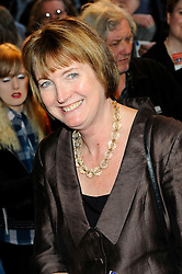 Harriet Harman attends the press night of the play The King's Speech  in London on Tuesday, March 27, 2012 Photo by: Chris Joseph / i-Images