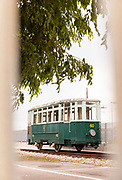 Tram from the Opicina tramway, which is currently out of use, Triste, Italy