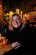 Gent, Belgie, Mar 20, 2009, Gezelligheid troef in het cafe? Rococo van Betty in het Patershol, .©Christophe VANDER EECKEN