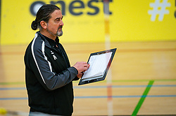 Coach Ivo Martinovic of Fast in action during the league match Laudame Financials VCN - FAST on January 23, 2021 in Capelle aan de IJssel.