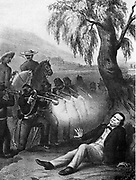 Melchor Ocampo (1814-1861) Mexican Lawyer, scientist and Liberal politician. Served as Treasury Minister and as Minister of the Interior. Was abducted by Conservatives, summarily court-martialled and executed by firing squad, 3 June 1861. Lithograph.