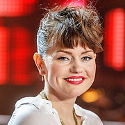 NLD/Hilversum/20160109 - 4de live uitzending The Voice of Holland 2015, Jennie Lena