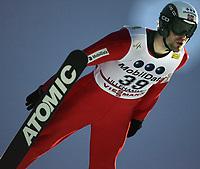 "Ski , 4 . December 2005  ,  ""Warsteiner"" FIS World Cup <br /> Nordic Combined ,  LH Sprint - Lillehammer .<br /> <br /> <br /> Magnus Moan , NOR"